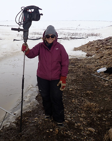 permafrost researcher